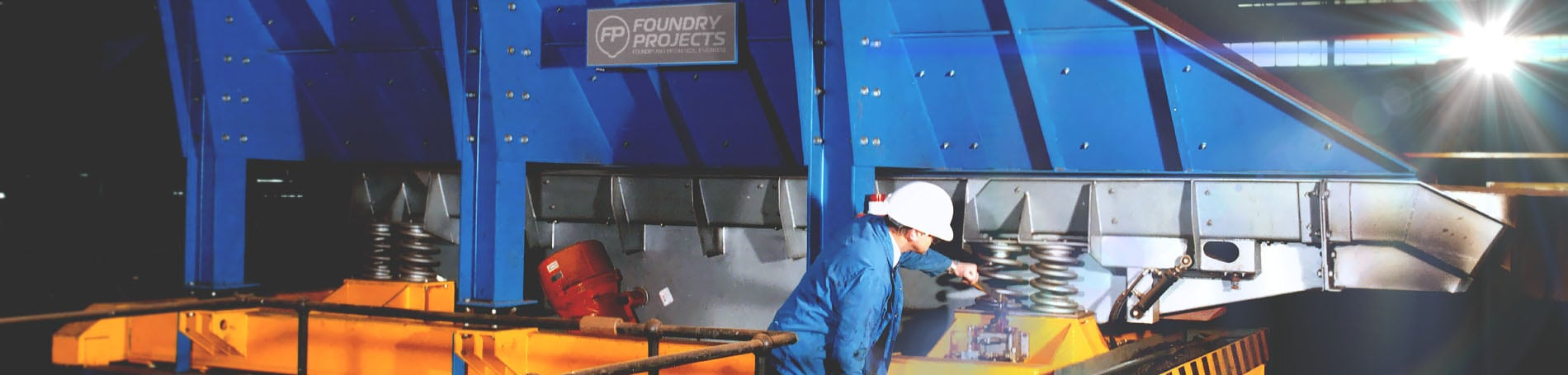 Foundry Equipment & Foundry Machinery Supplier