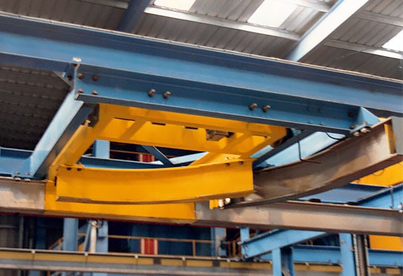 Monorail rolling junction
