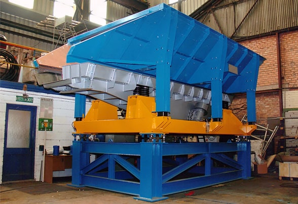 8t capacity static scrap batch weighing feeding system